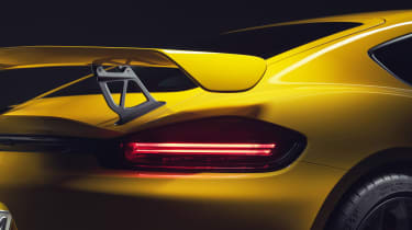 Porsche 718 Cayman GT4 - rear wing