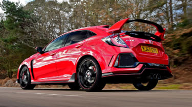 Honda Civic Type R long-term test review - rear