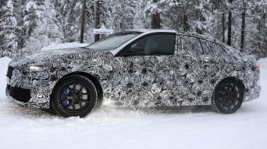 BMW 2 Series Gran Coupe spies - winter side