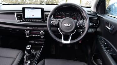 Kia Rio facelift - dash