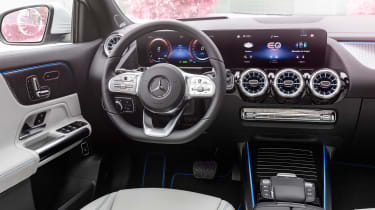 Mercedes EQA - dash