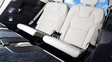 Volvo XC90 - back seats