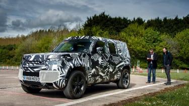 Land Rover Defender - interview