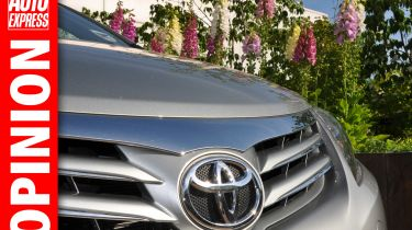 Toyota OPINION