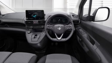 Vauxhall Combo-e van - interior