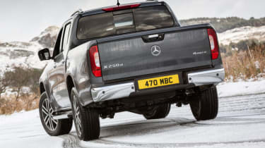 Mercedes X-Class review - static rear