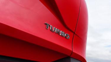 Vauxhall Crossland X - turbo badge