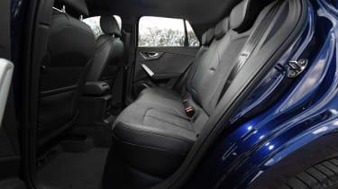 Audi Q2 35 TFSI long-termer - rear seats