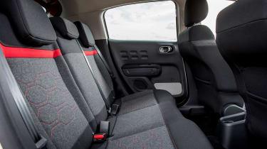 Citroen C3 - back seats