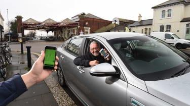 Uber driver - header