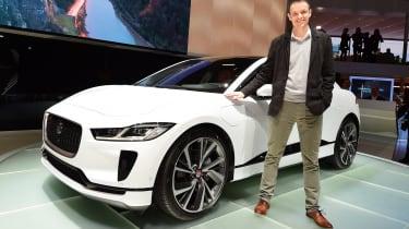 2018 Geneva Motor Show stars - Jaguar I-Pace Graham Hope