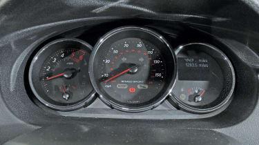 Renault Megane Coupe dials