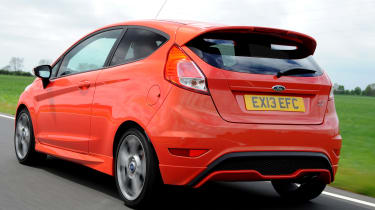 Used Car Awards 2016 - Ford Fiesta ST rear tracking
