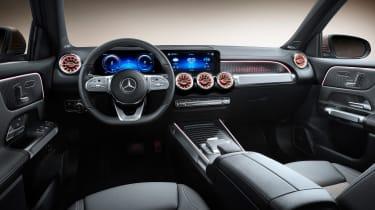 Mercedes EQB - interior