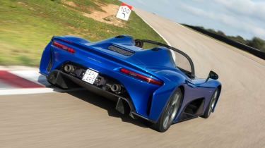 Dallara Stradale - rear cornering