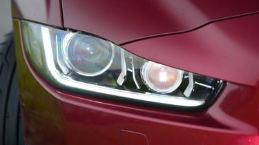 Jaguar XE - front light detail