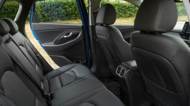 New Hyundai i30 Tourer 2017 - rear seats