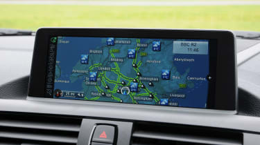 BMW 2 Series 220d sat nav