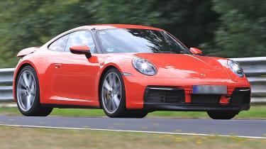 Porsche 911 front quarter