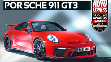 Performance Car of the Year 2017 - Porsche 911 GT3