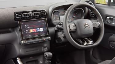 Citroen C3 Aircross facelift - cabin