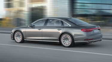 New Audi A8 - A8 L rear quarter