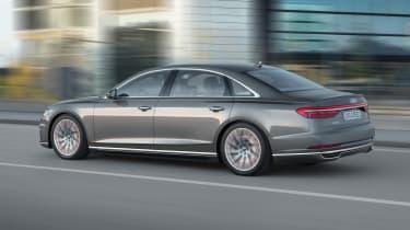 New Audi A8 - A8 L rear quarter