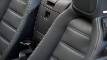 Fiat 124 Spider - seats
