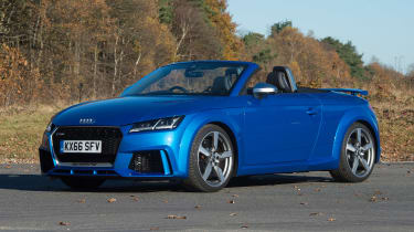 Audi TT RS Roadster - front static