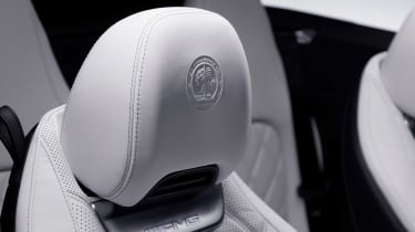 Mercedes SL interior - head rest