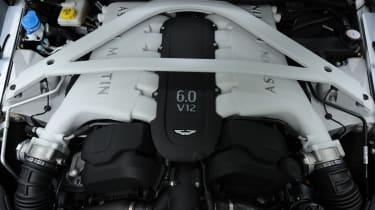 Aston Martin Vanquish Centenary Edition engine