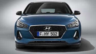 Hyundai i30 2017 - front end studio