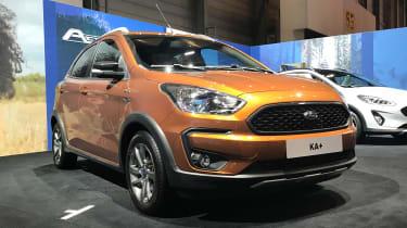 Ford Ka+ Active - Geneva front/side