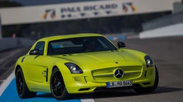 Mercedes SLS Electric Drive fornt static