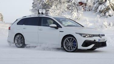 Volkswagen Golf R Estate - spy side