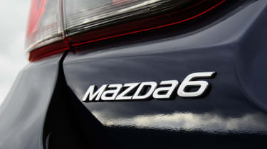 Mazda 6 automatic badge