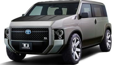 New Toyota Tj Cruiser concept - front