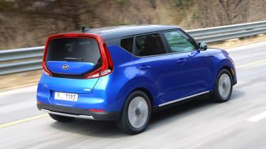 Kia Soul EV - rear action