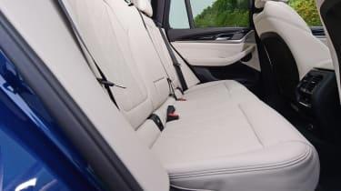 BMW X3 M40i - rear seats