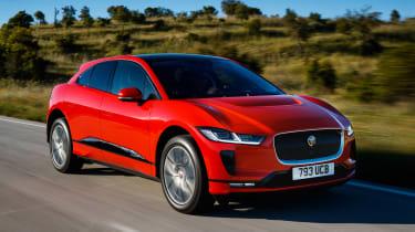 Jaguar I-Pace - front tracking