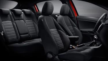 Alfa Romeo Giulietta - facelift seats