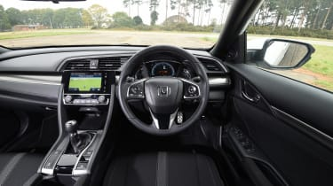 Honda Civic long-term review - Civic interior