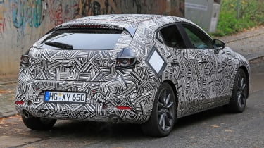 Mazda 3 - spy rear