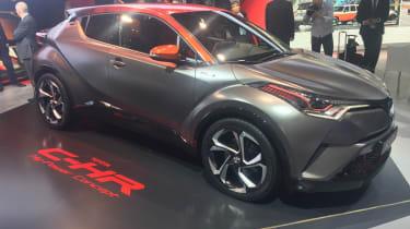 Toyota C-HR Hy-Power - Frankfurt front
