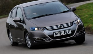 Honda Insight front cornering