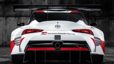 Toyota GR Supra concept rear end