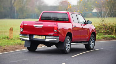 Toyota Hilux Invincible X rear