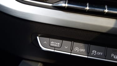 Twin test - Audi A5 - buttons