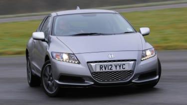 Honda CR-Z front cornering