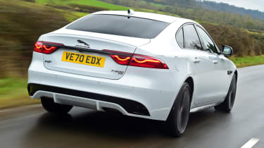 Jaguar XF facelift - rear